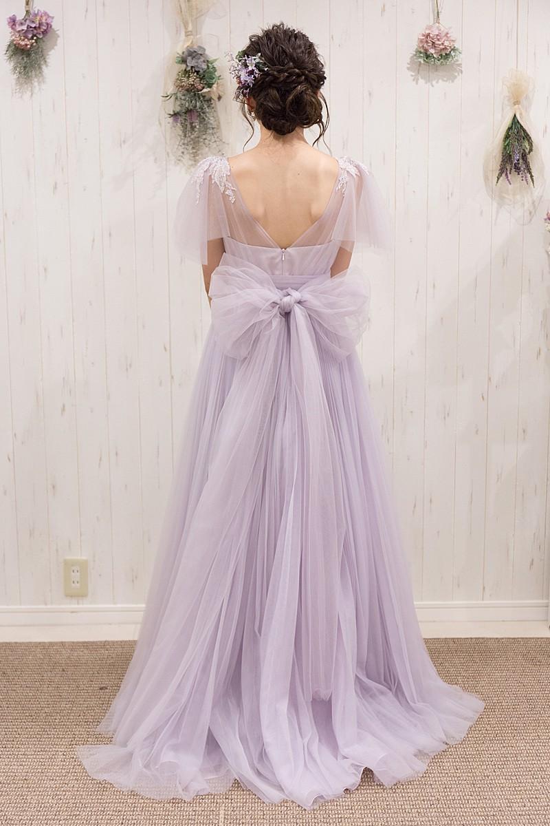 フレア袖絵ドレスを自分の結婚式で選びたいなら|Choole