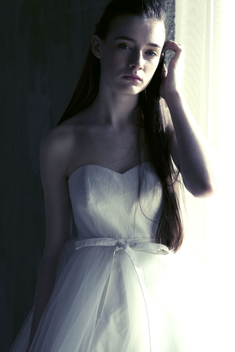 チュールオーバースカート2way ドレス