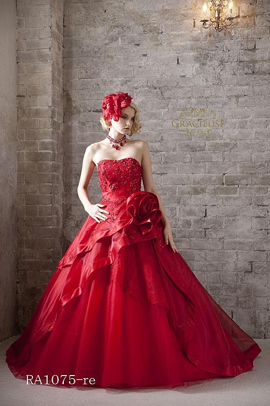 レッドオーガンのドレス