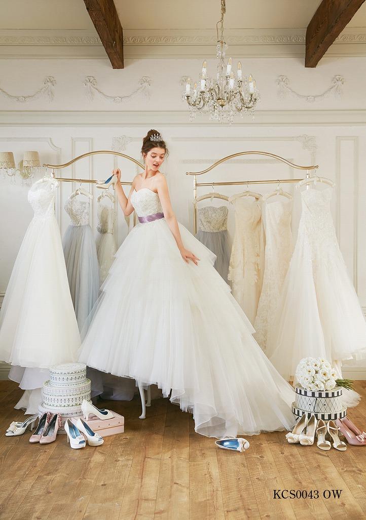 クチュールナオコのウェディングドレス