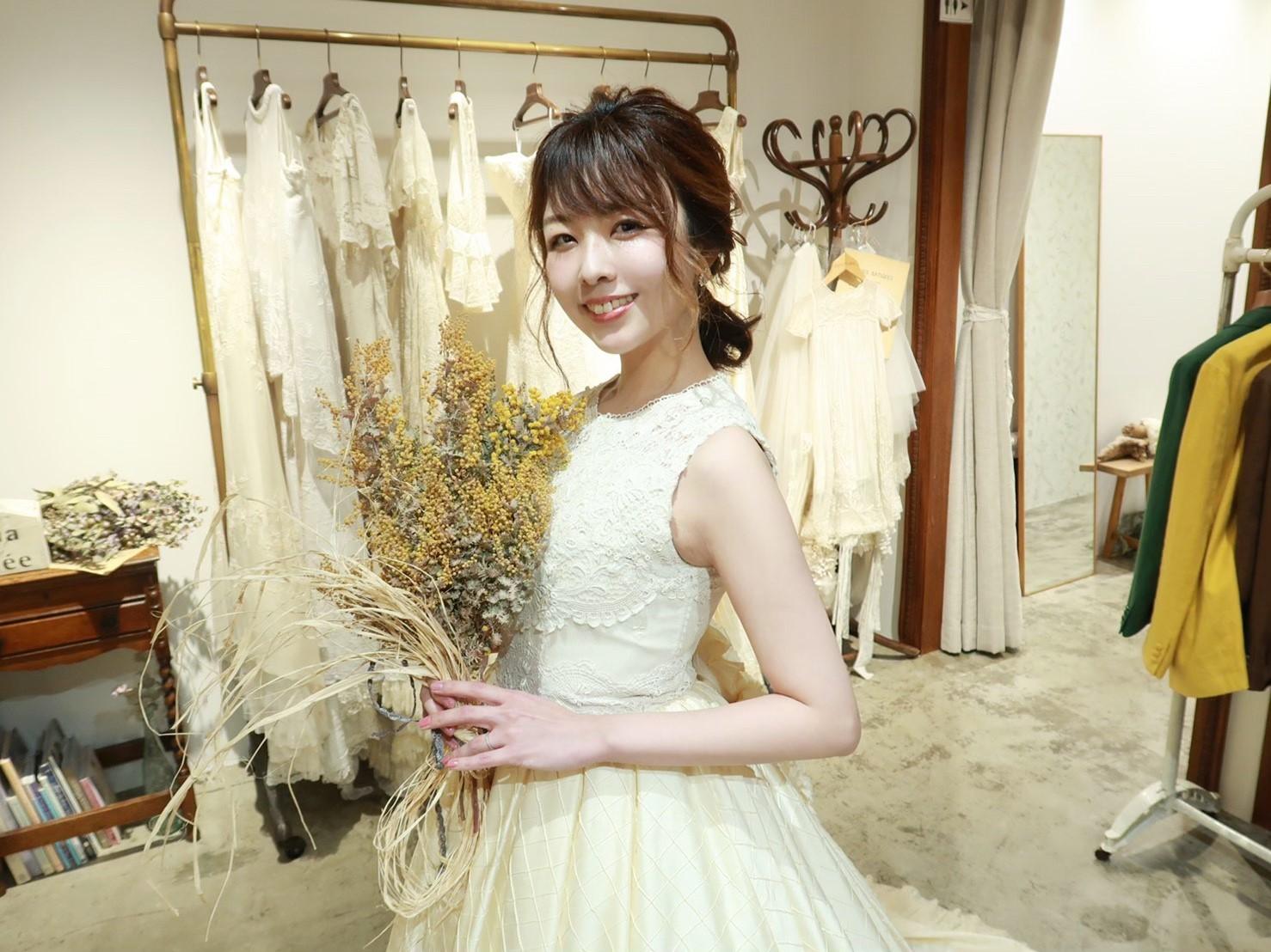 マリアエマリエのウェディングドレス